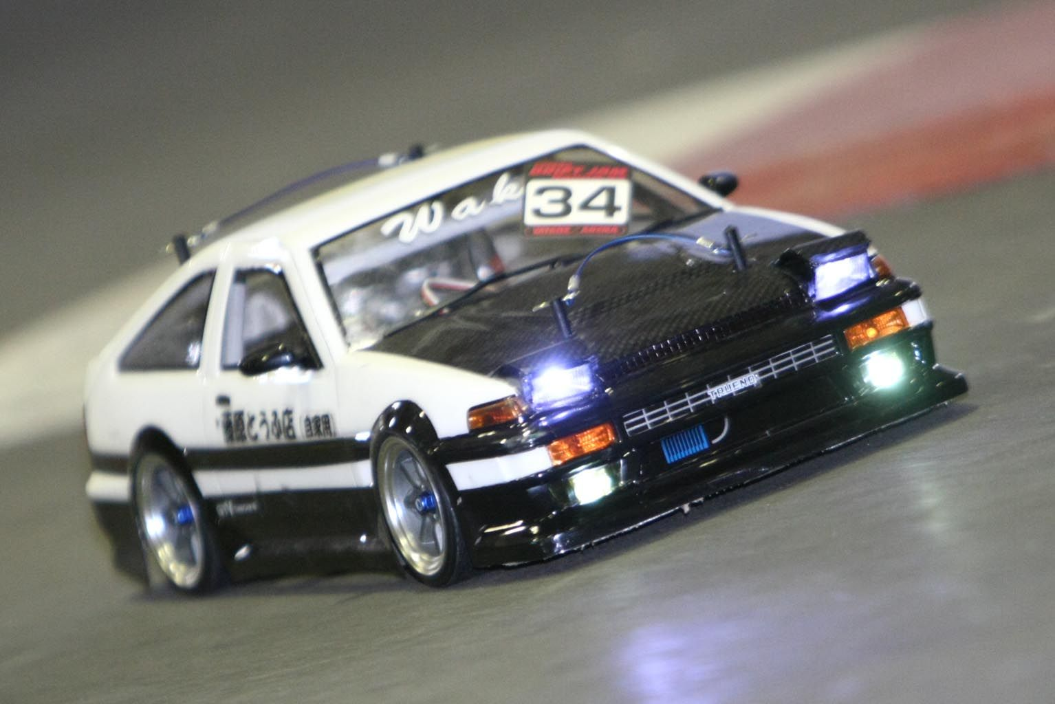 Toyota Sprinter Trueno Rc Car Rc World Pinterest
