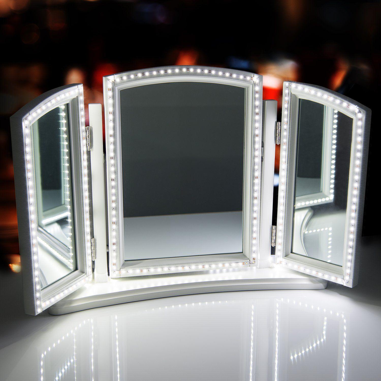 Sunnest ftm led vanity mirror lightsled strip kit for makeup