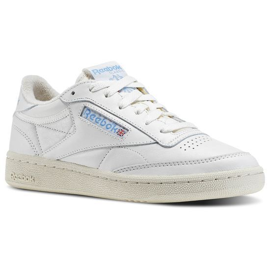 Sede Barra oblicua lb  Club C 85 Vintage - Blanco Reebok | Reebok España | Club c 85 vintage,  White reebok, Reebok shoes women