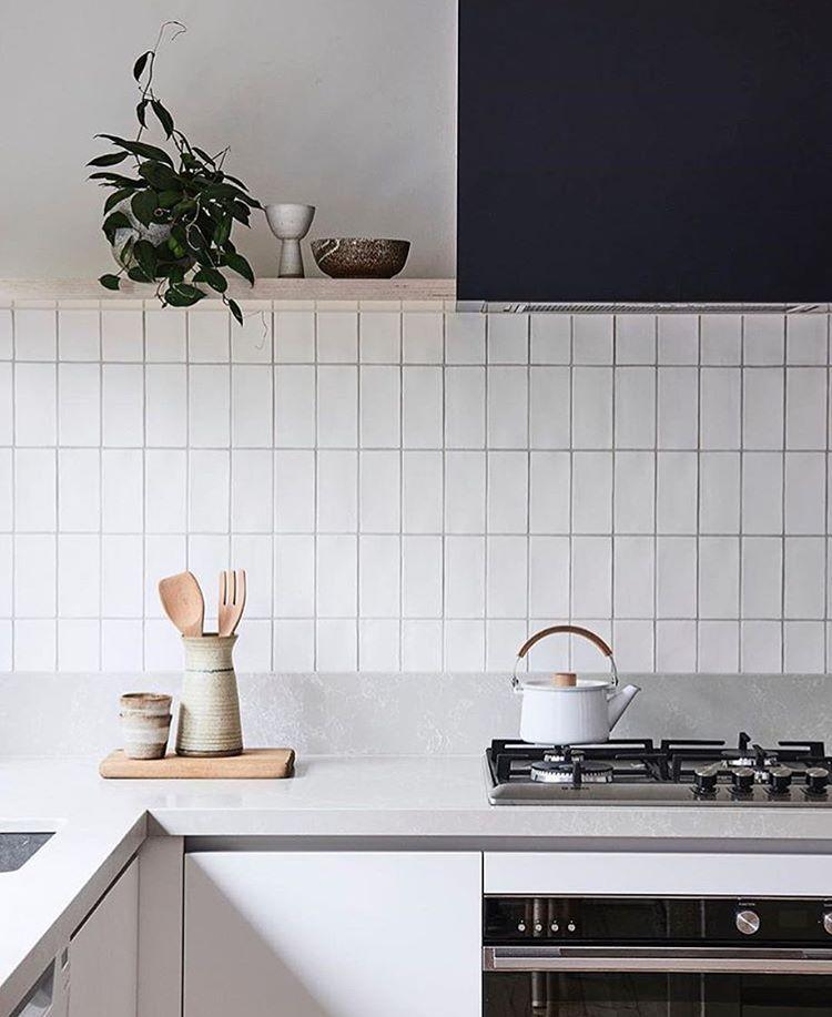 Kitchen calm via @bicker_design #LETLIVcoveted #kitchen Kitchens