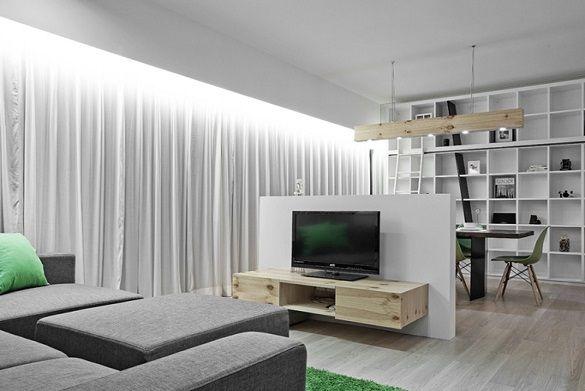 Pin en luz dormitorio - Luz indirecta escayola ...