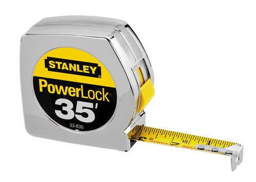 35 ft powerlock tape at menards made n usa with global materials