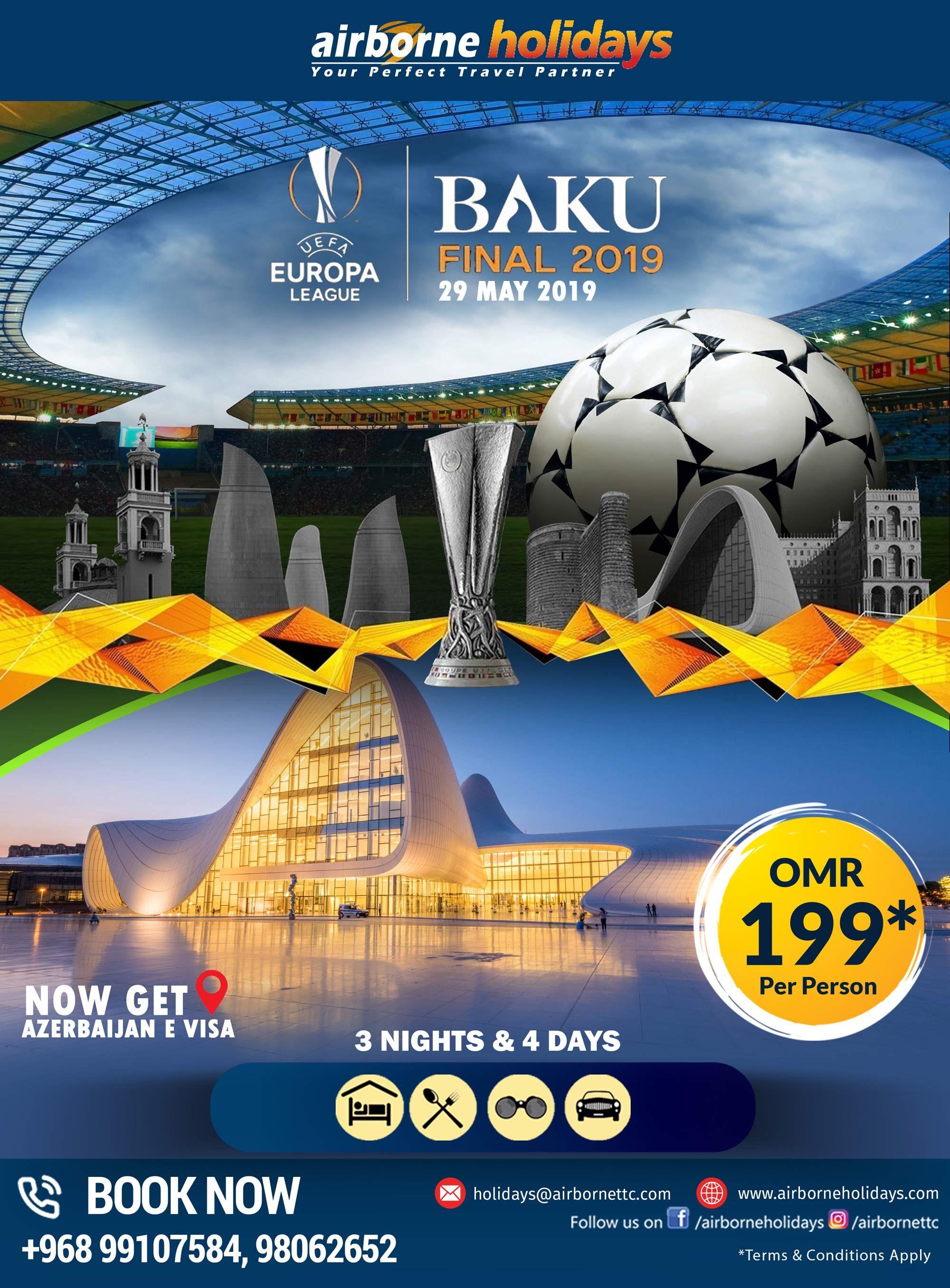 Already Thinking About The 2019 Baku Final We Provide Uefa Europa