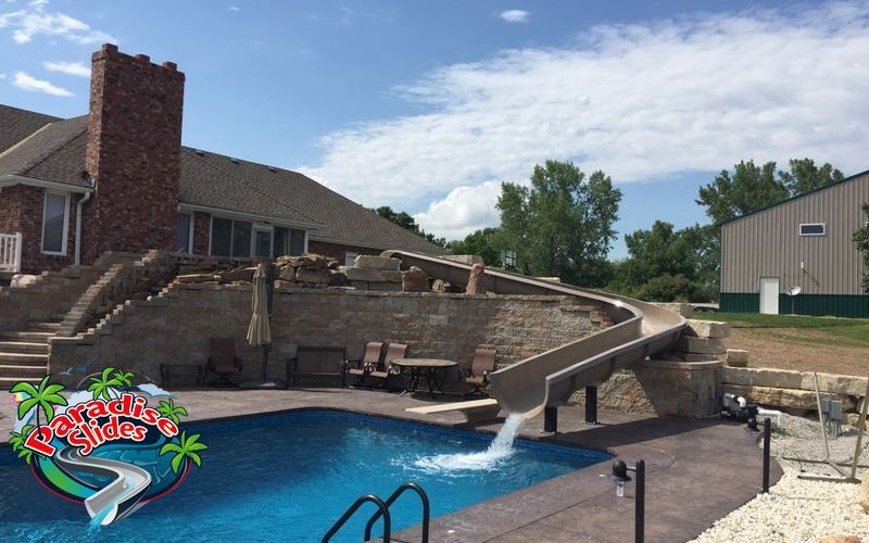 Pin by Paradise Slides, Inc. on Water Slides | Custom pools, Water ...