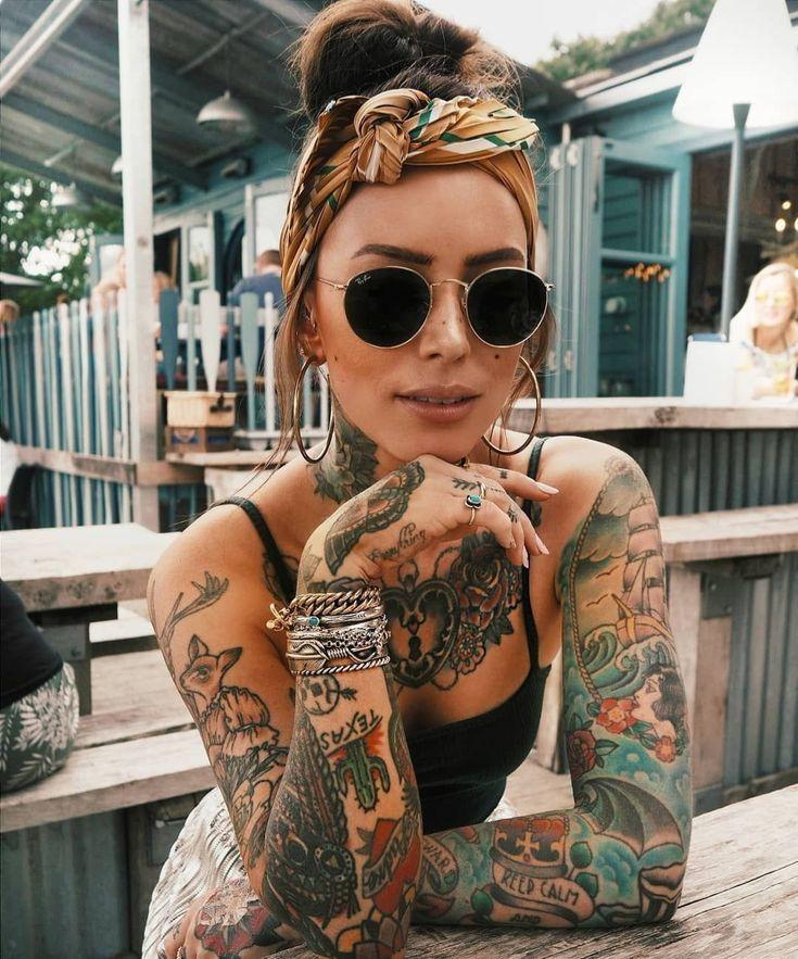 Photo of Sammi Jefcoate – Amazing Girls Tattoos – PickPin