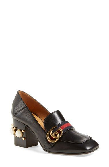 b7e970073f4 Gucci  Peyton  Square Toe Loafer available at  Nordstrom