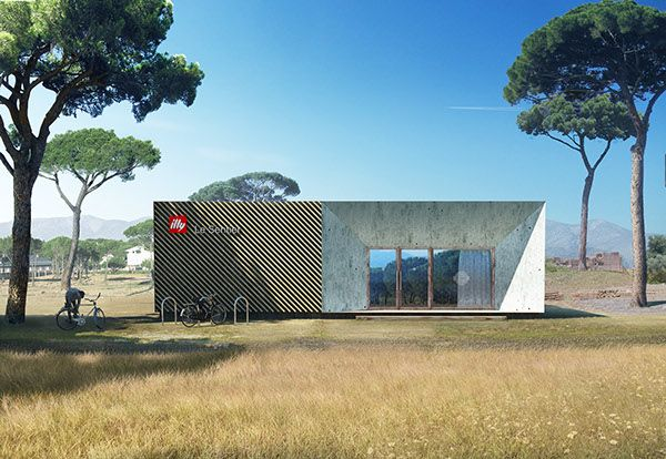 Illy Bike Cafe proposal by WSBY, Montpellier, France