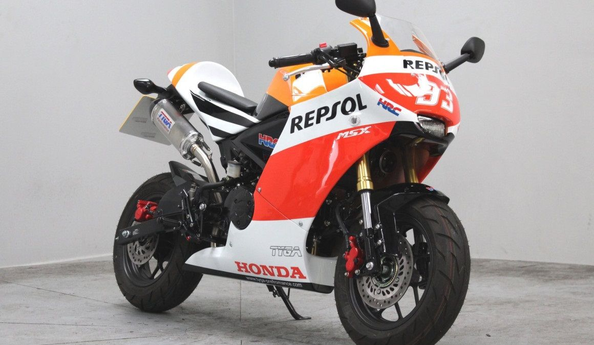 How About A Honda Grom Repsol Fireblade Edition Top Speed Honda Grom Honda Motorcycle News