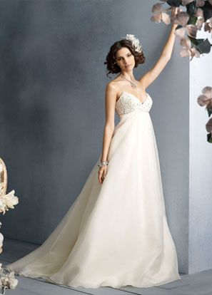 Babydoll Wedding Dress Long So Pretty