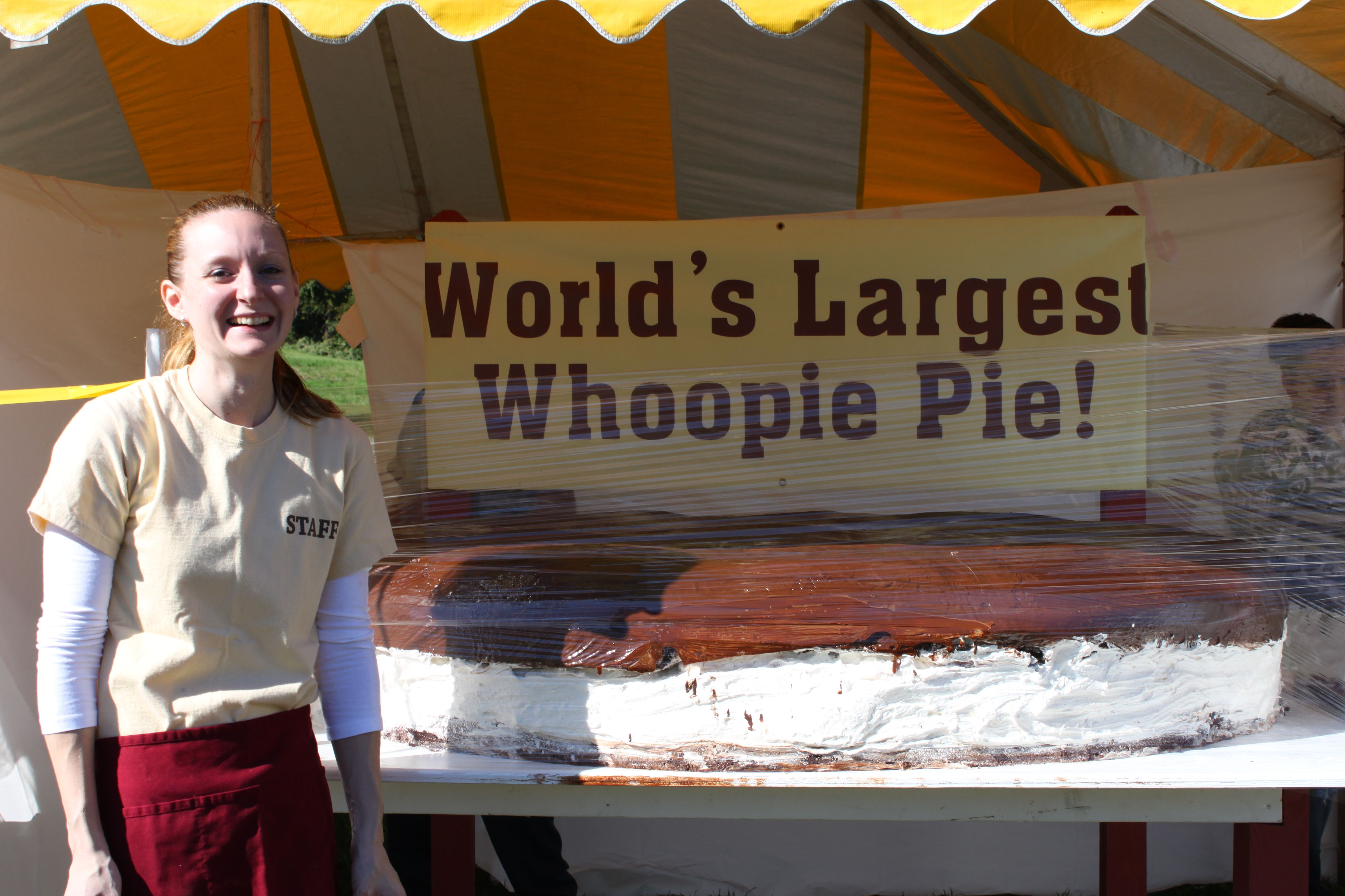 Want To See The World S Biggest Whoopie Pie Or Taste A Small Version Head To The Whoopie Pie Festival In Strasbur Specialty Foods Food Festival Whoopie Pies