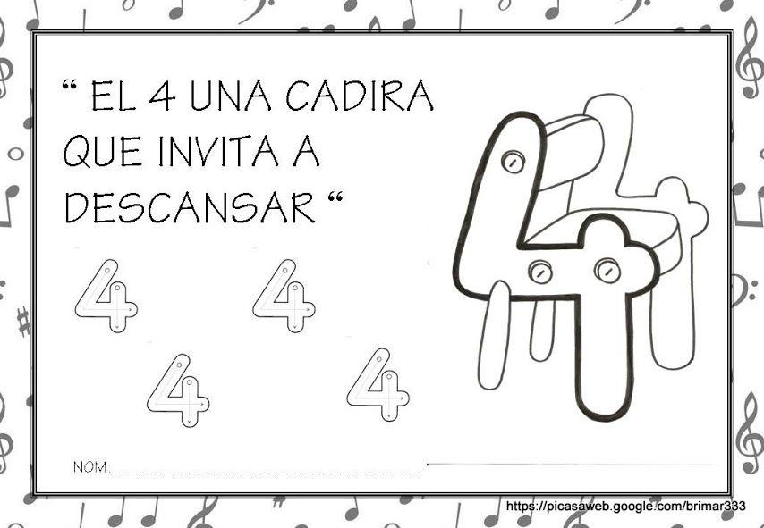 FITXES CANÇÓ DELS NÚMEROS