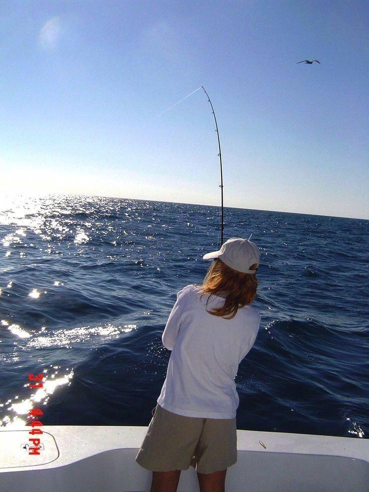 Great hacks fishingforwomen Deep sea fishing, Salt
