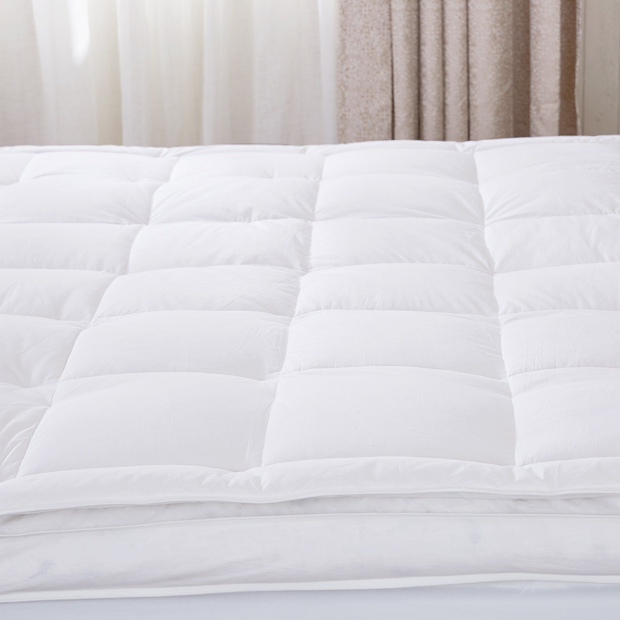 Goose Feather Mattress Topper Feather Bed Feather Mattress Bed Sizes Mattress Topper
