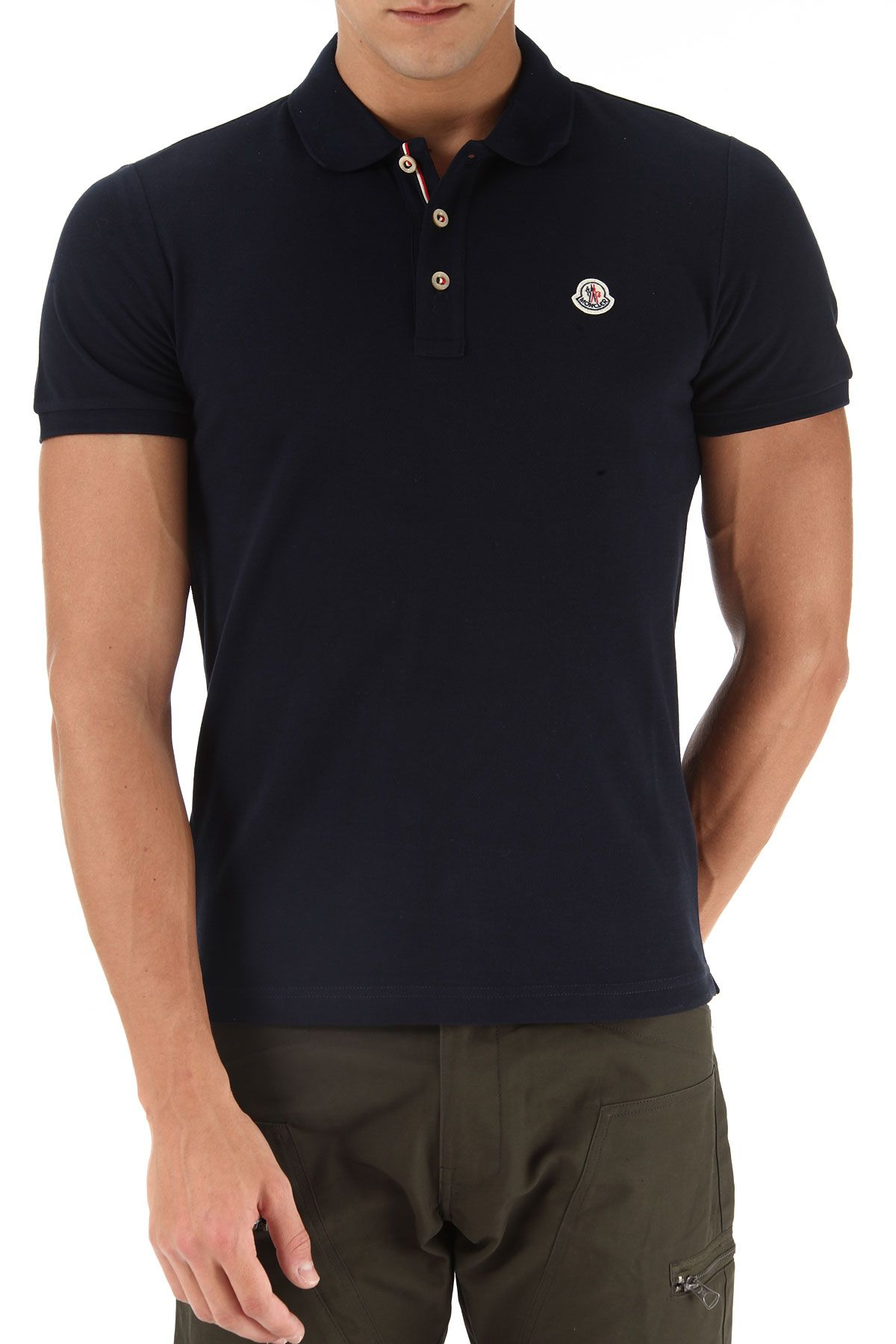 6a18af6ad Moncler Polo Shirt for Men On Sale, Navy Blue, Cotton, 2019, XL XXL on  Avoir Fashion!