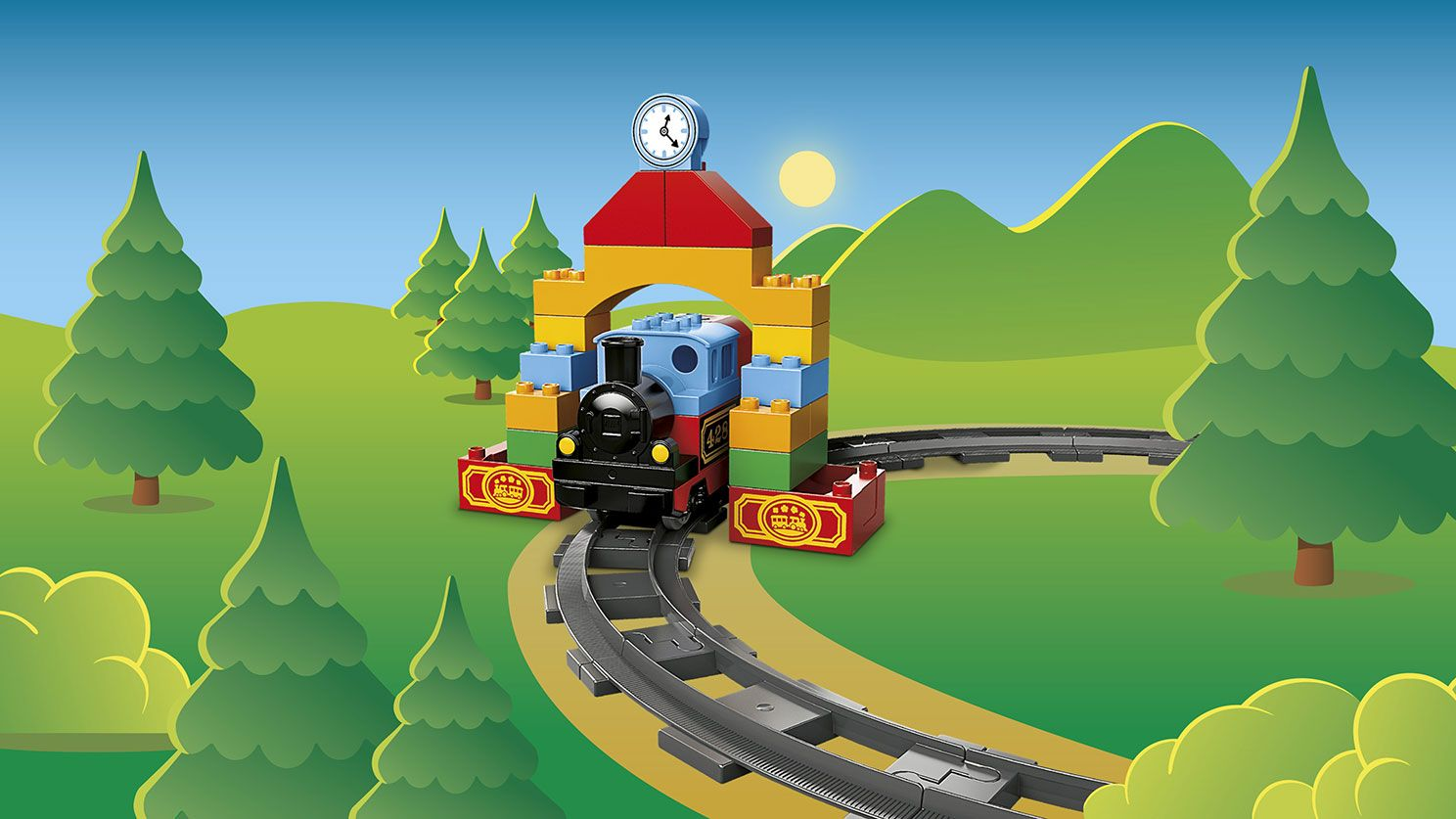 Own Duplo City, My First Train, April 2016