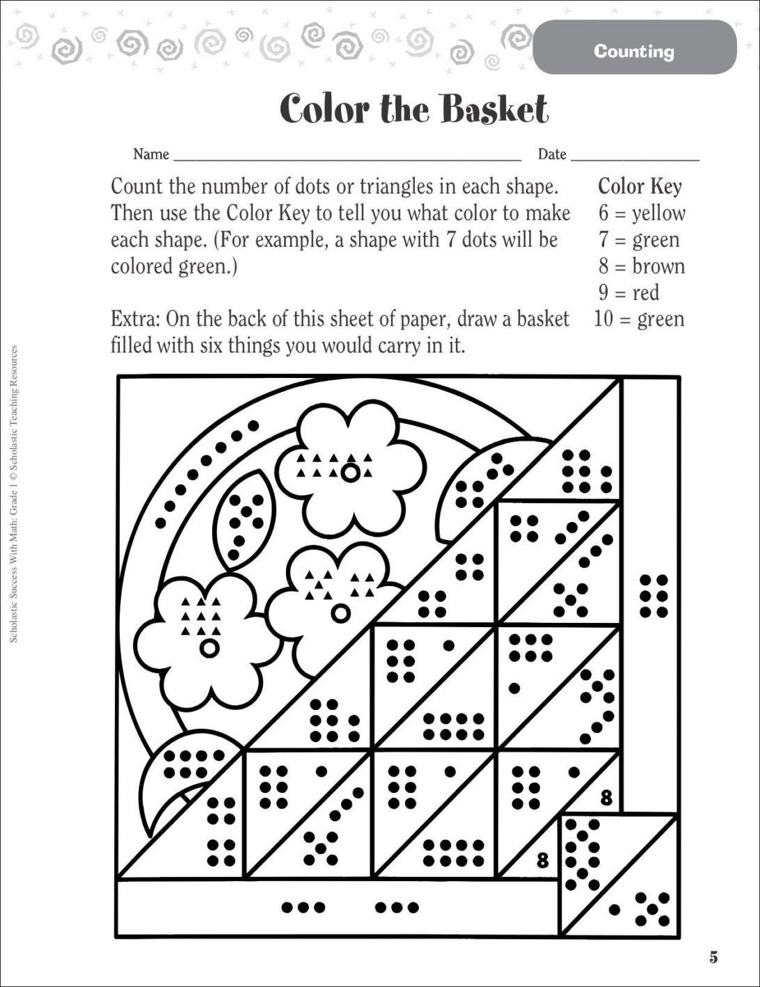 Color Word Worksheets For Kindergarten Coloring Pages