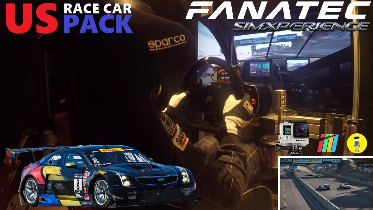Project Cars [US Race Car Pack] - Cadillac ATS-V.R GT3 @ Laguna Seca [SimXPerience + Fanatec]