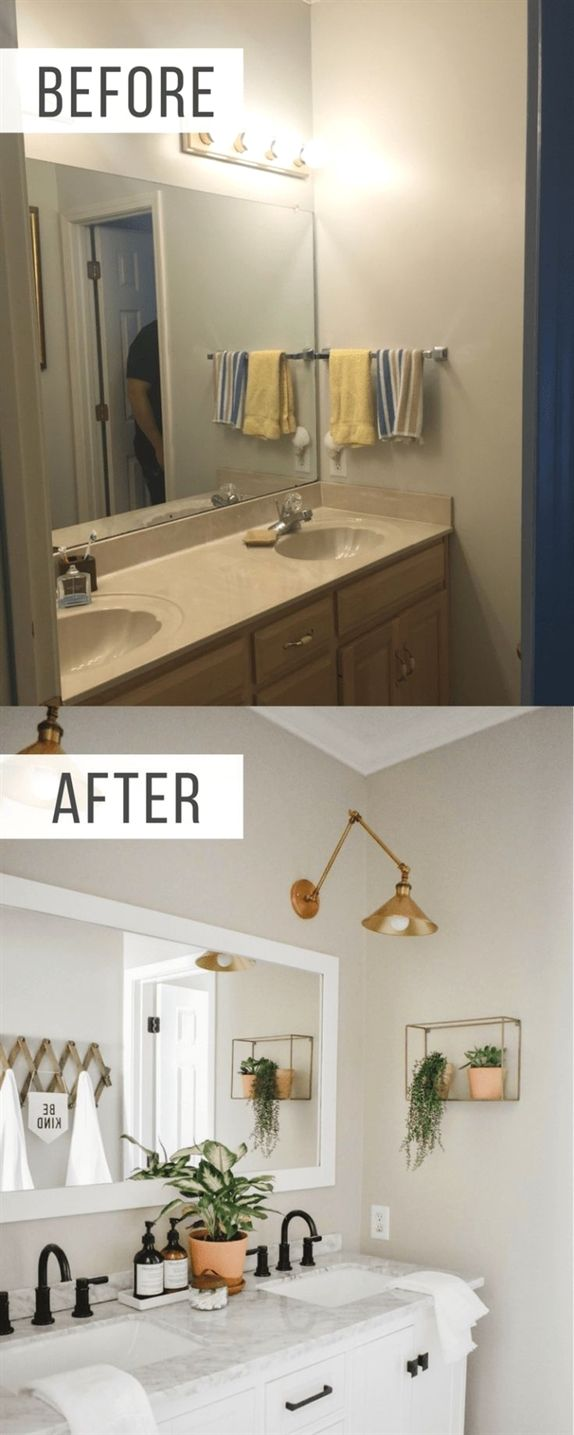 How Much Does A Bathroom Renovation Cost Modern Boho Bathroom