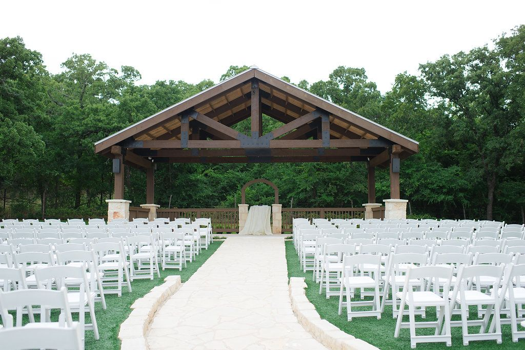 Gorgeous outdoor ceremony pavilion at THE SPRINGS