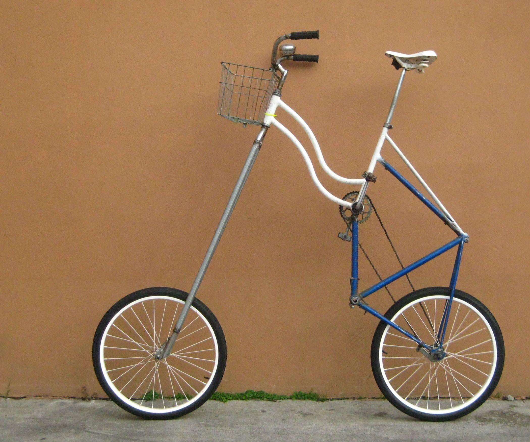 How To Make A High Rider Tall Bike Bike Bicycle Push Bikes