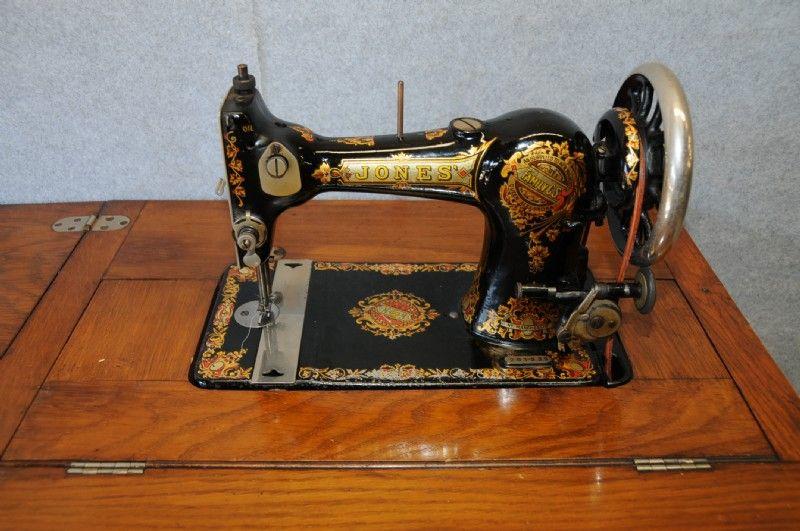 Jones Treadle Sewing Machine