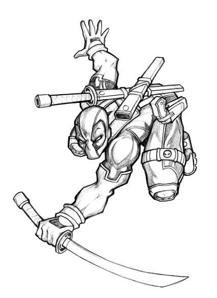 #Deadpool #Fan #Art. (Another Deadpool) By: LOLONGX