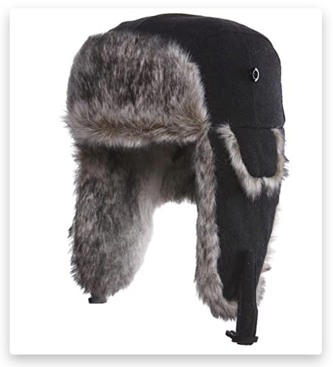 Factory Products Russian Winter Hat Ushanka With Soviet Army Badge Free Shipping Winter Fur Hat Russian Winter Hat Ushanka