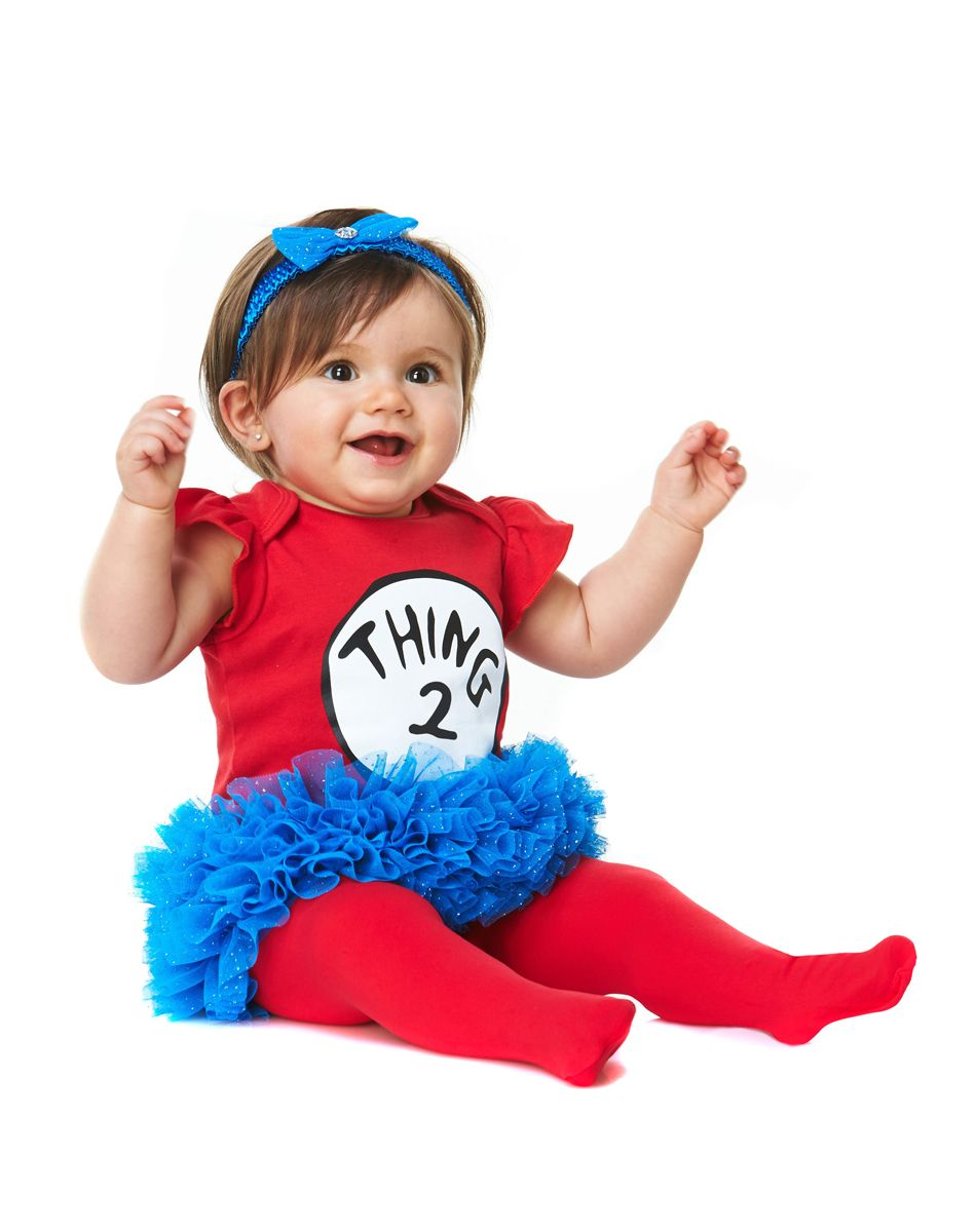 Dr. Seuss Thing 2 Girl Baby Costume at Spirit Halloween - What ...
