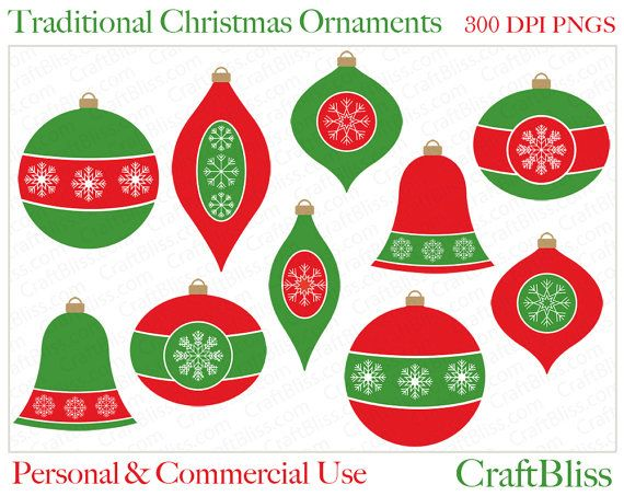 The Gallery For Green Christmas Ornaments Clipart Red Christmas Ornaments Christmas Ornaments Traditional Christmas Ornaments