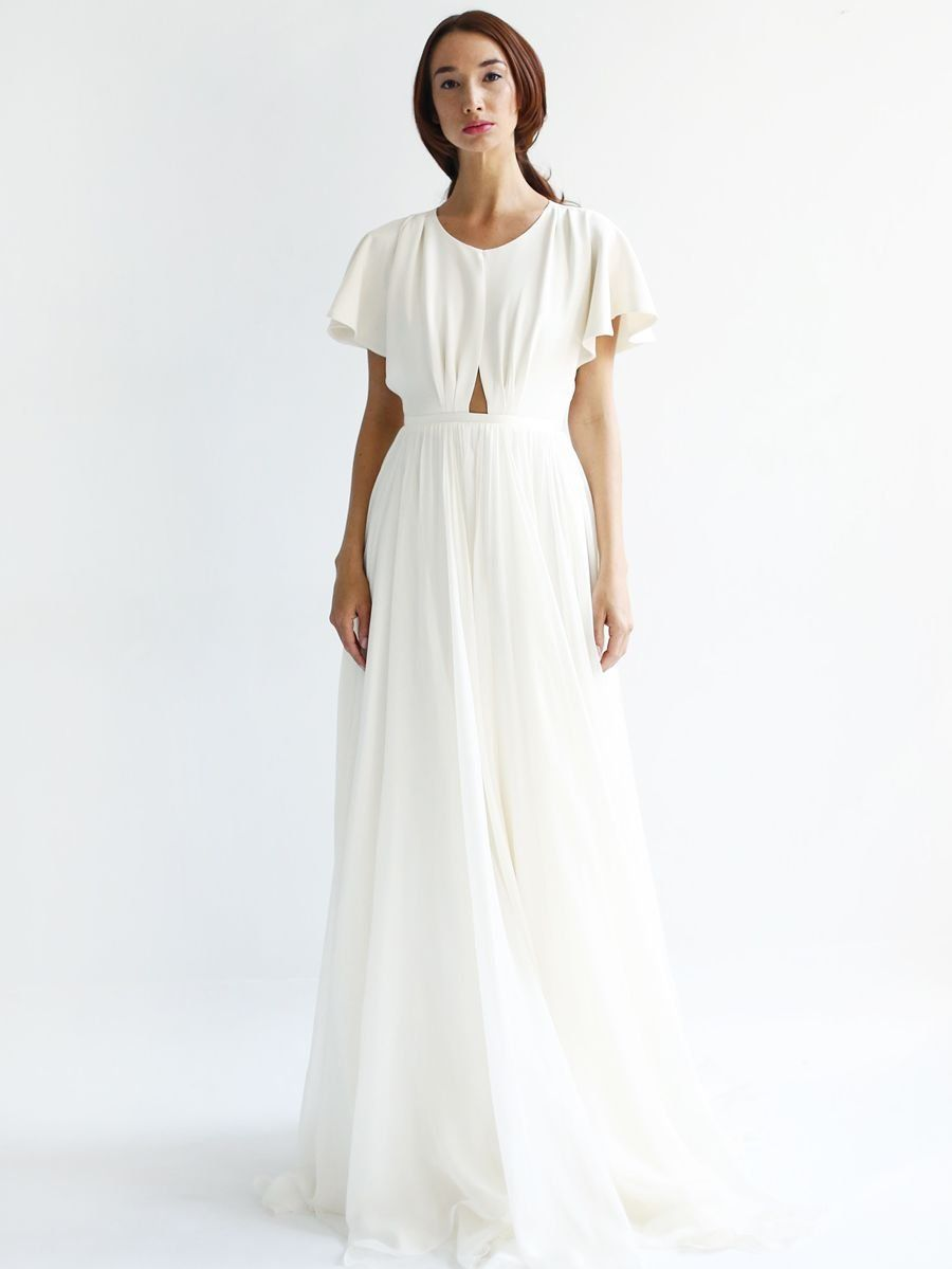 Leanne Marshall Spring 2019 Airy Wedding Dresses With Intricate