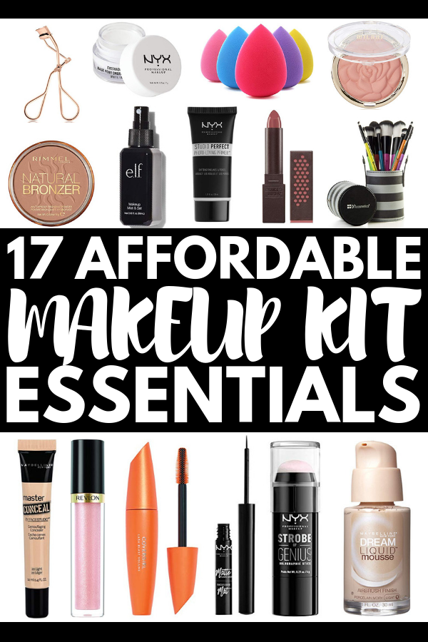 Build Your Own Makeup Kit For Beginners: 17 Must Have Makeup Products Build Your Own Makeup Kit for Beginners: 17 Must Have Makeup Products Makeup Products makeup products for beginners