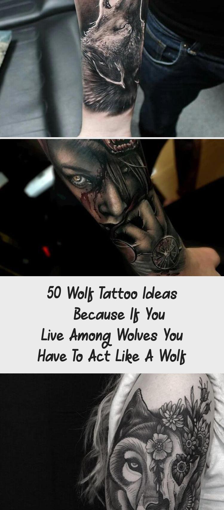 50 Wolf Tattoo Ideen  Denn wenn Sie unter Wölfen leben müssen Sie sich wie ein W   50 Wolf Tattoo Ideen  Denn wenn Sie unter Wölfen leben müssen Sie s...
