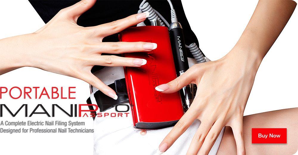 Kupa Inc. Mani-Pro Passport is the portable electric nail file! www ...