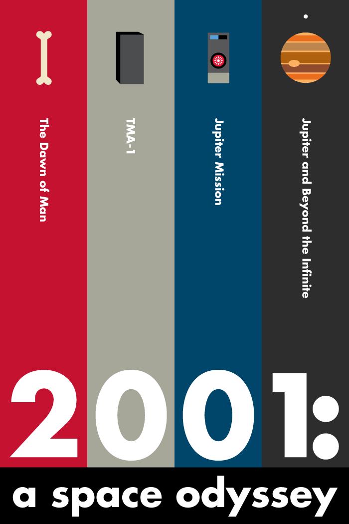 #movie #alternative #illustration #graphic #film #poster #minimal #design #2001aspaceodyssey