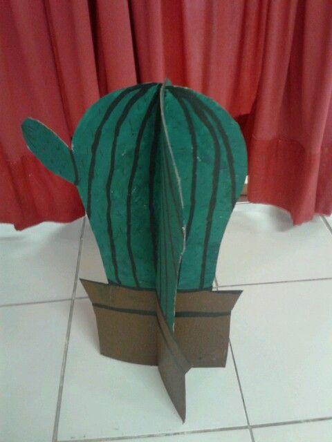 cactus de carton