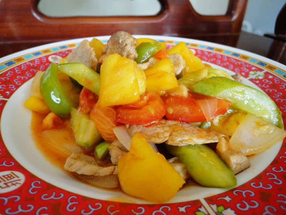 Pad priao wan thai food recipe pad priao wan sweet and sour stir pad priao wan thai food recipe pad priao wan sweet and sour stir fried forumfinder Choice Image