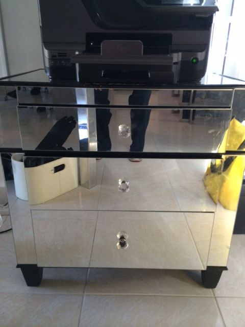 Night Stand mirrors by Glass Doctor of Miami