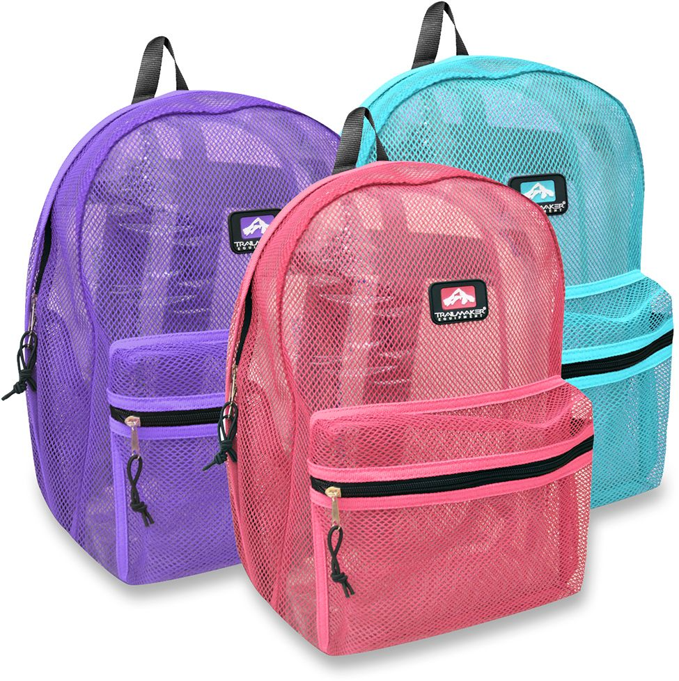 ff43c39e81 Mesh Backpack Academy