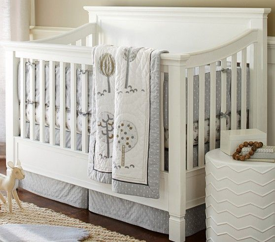 Love The Quilt Woodlands Nursery Bedding Pottery Barn Kids