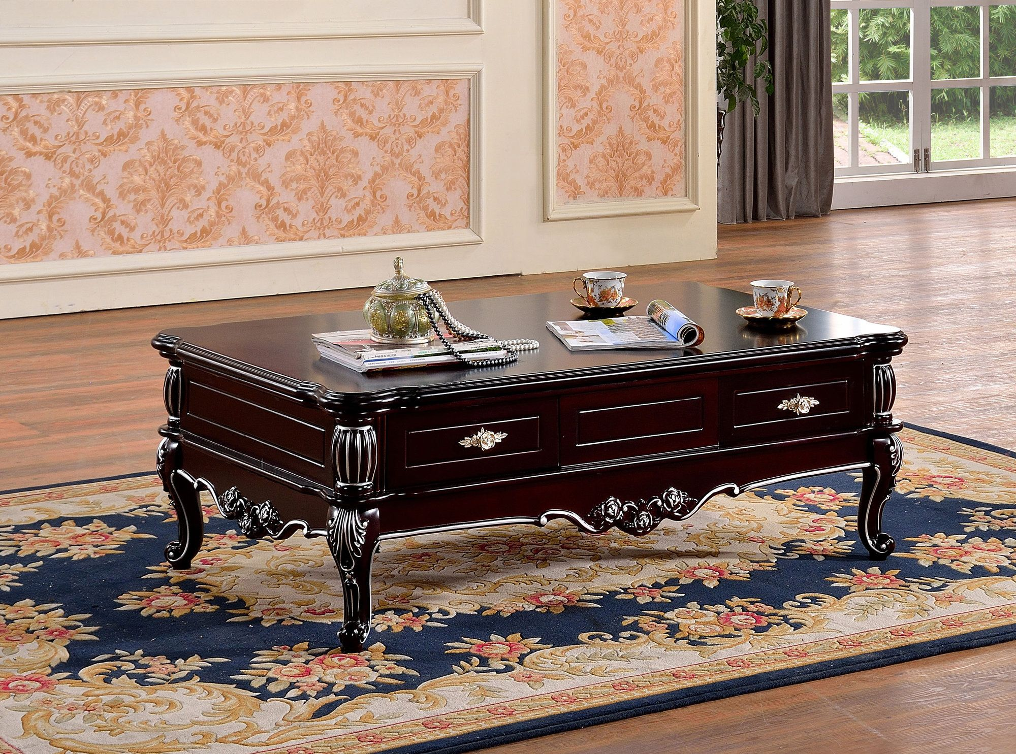 Andarra Coffee Table Meridian Furniture Furniture Coffee Table