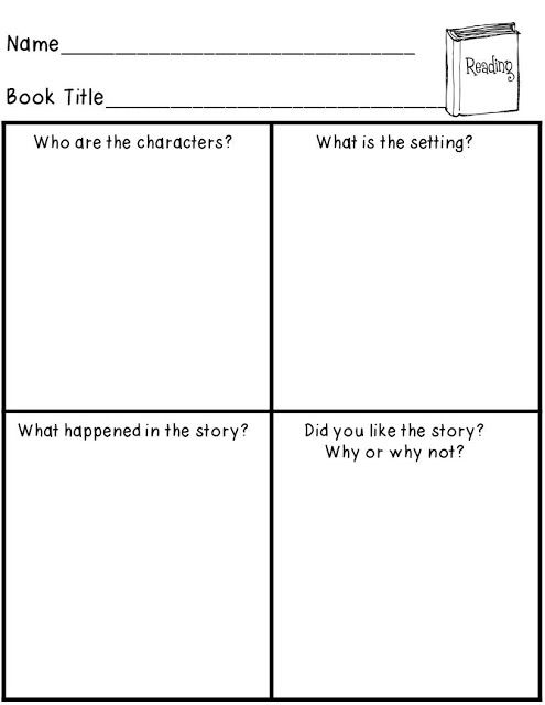 FREE story elements activity! Great for Guided Reading or ...