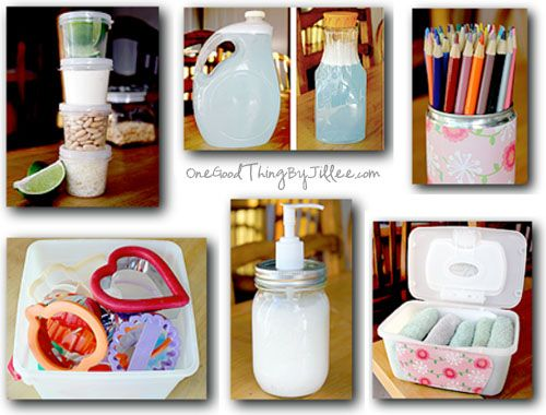 Crafts Using Empty Ice Cream Containers