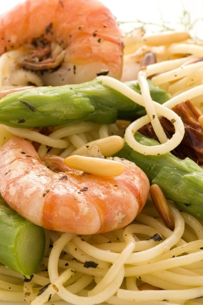 how to make fettuccine pasta with shrimp