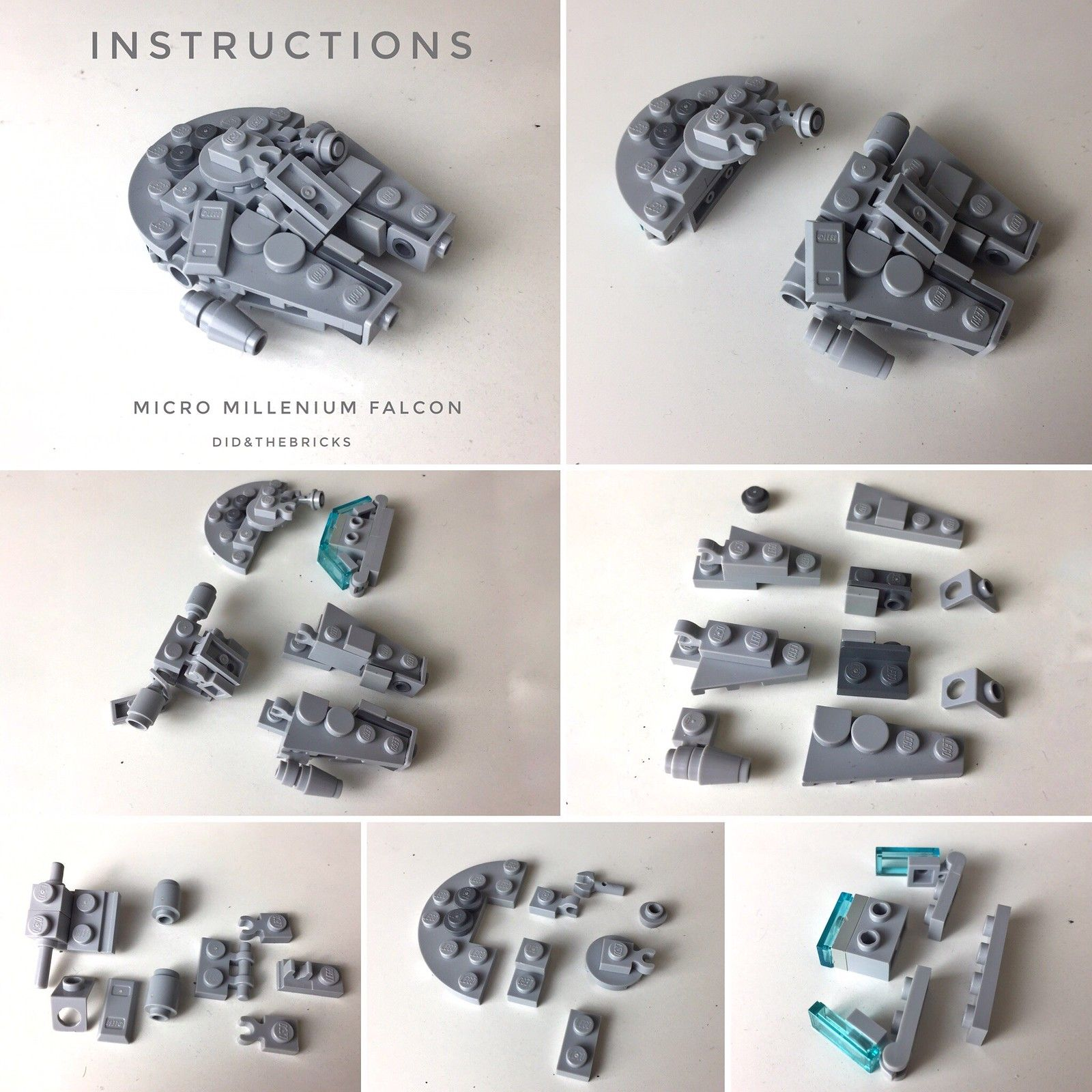 Photo of Micro Millennium Falcon – Instructions
