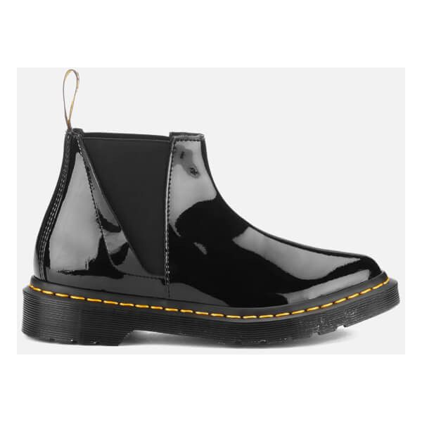 Dr Martens Mujer Pointed Lamper Bianca Patent Lamper Pointed Chelsea botas 4bab6a