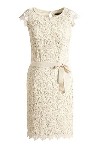 Esprit Etui-Kleid aus Spitze COLLECTION im Online Shop kaufen~ such a  beautiful dress for the rehearsal dinner! 8704c5ec24