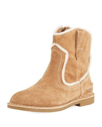 8048446bb19 UGG Catica Western Suede Booties | Products | Suede booties, Uggs, Boots
