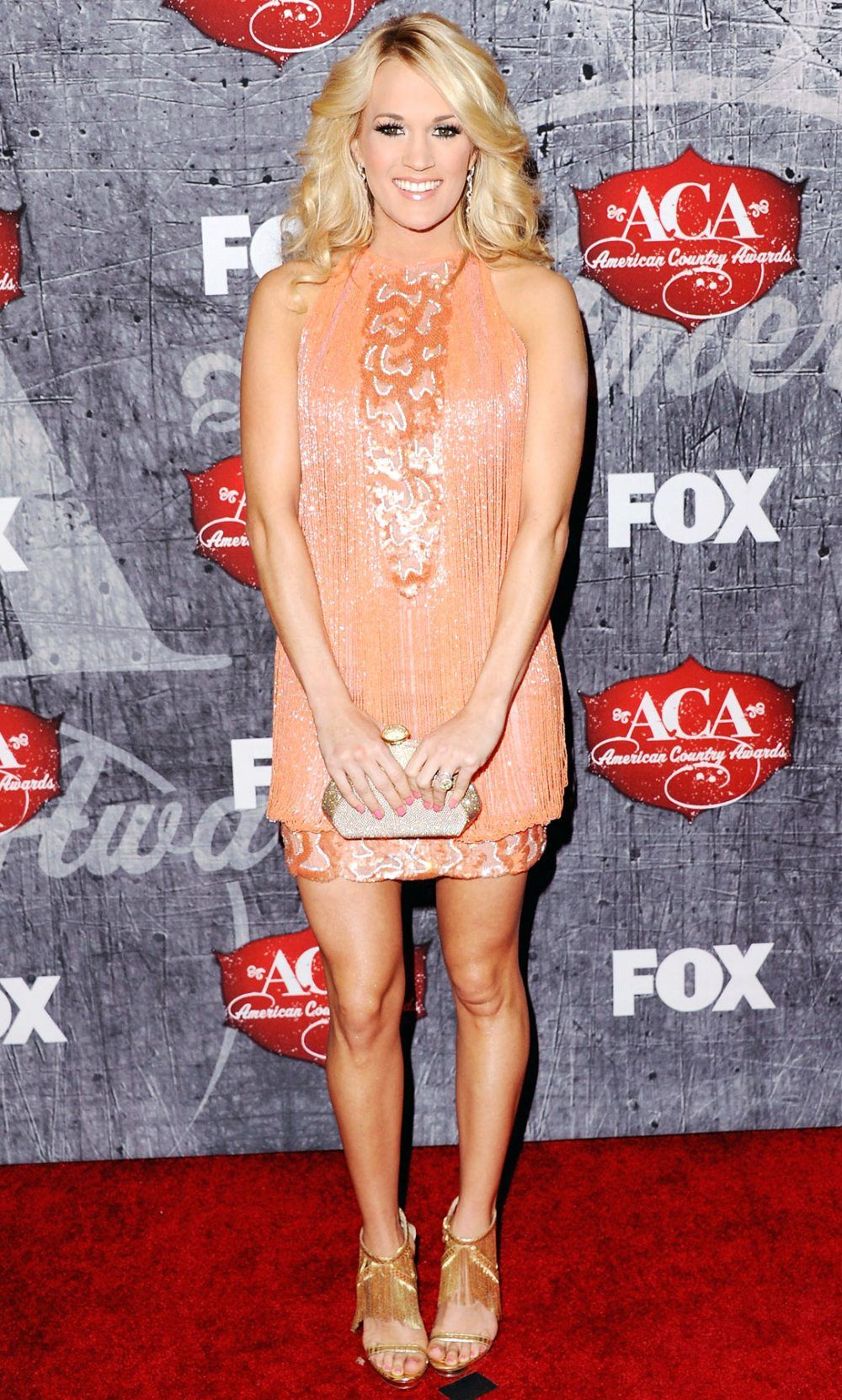 Carrie Underwood - ACM Awards 2012 Red Carpet | Carrie