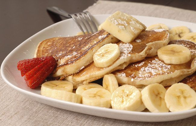 Secret weapon protein pancakes: The ingenious power breakfast of the fitness gurus -  Space there, h...