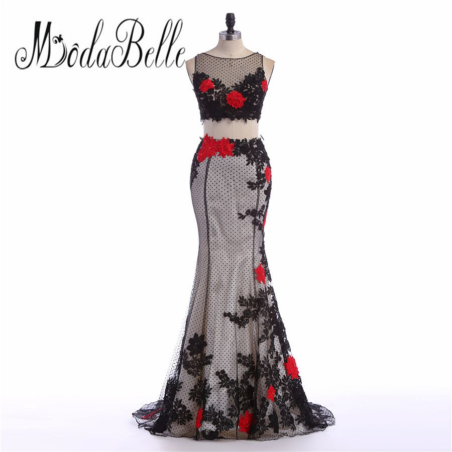 Click to buy ucuc modabelle lace appliques woman arabic black red